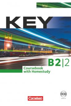 Key B2/2 Coursebook with Homestudy (dupla CD-melléklettel)