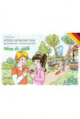 Képes szókártyák gyerekeknek – német nyelvből (Város és vidék)