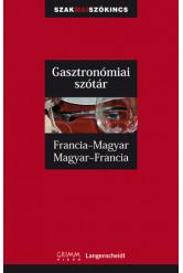 Francia-magyar, magyar-francia gasztronómiai szakszótár