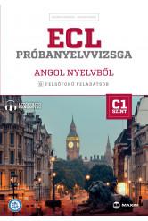 ECL próbanyelvvizsga angol nyelvből – 8 felsőfokú feladatsor – C1 szint (letölthető hanganyaggal)