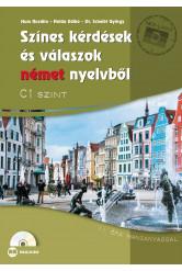 Színes kérdések és válaszok német nyelvből C1 szinten – CD-melléklettel