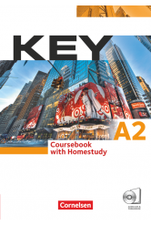Key A2 Coursebook with Homestudy